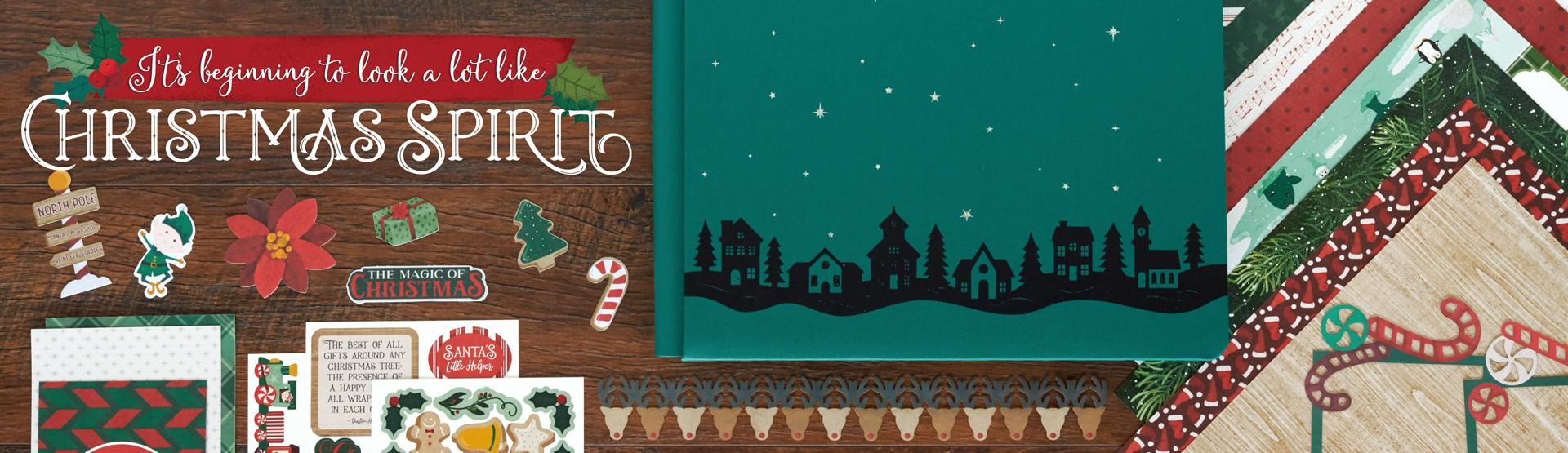 Christmas Scrapbook Supplies: Christmas Spirit