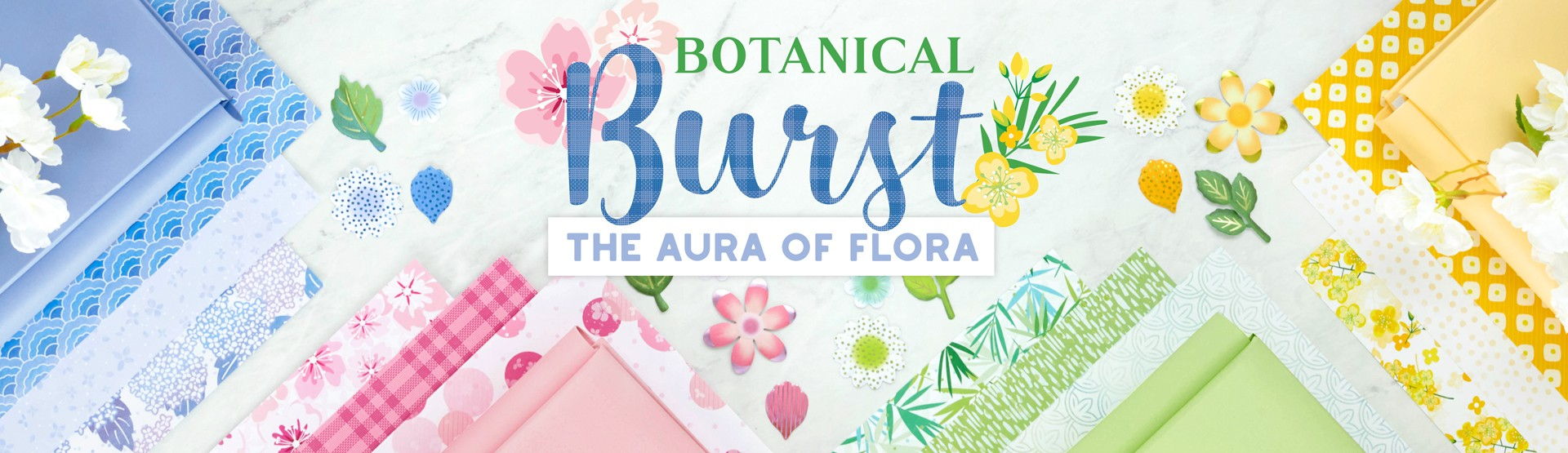 Mix and Match Scrapbooking Supplies: Botanical Burst