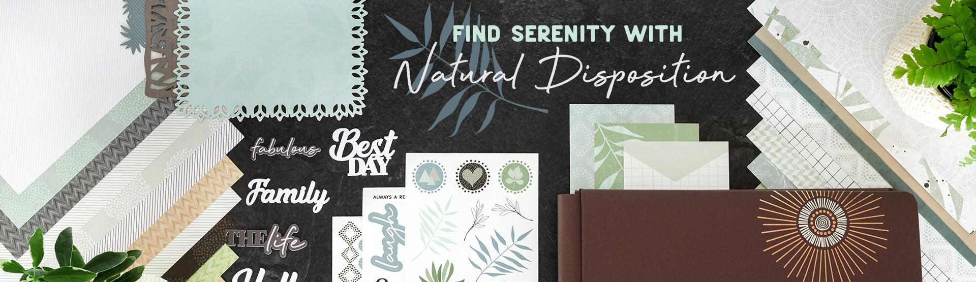 Natural Scrapbooking Supplies: Natural Disposition