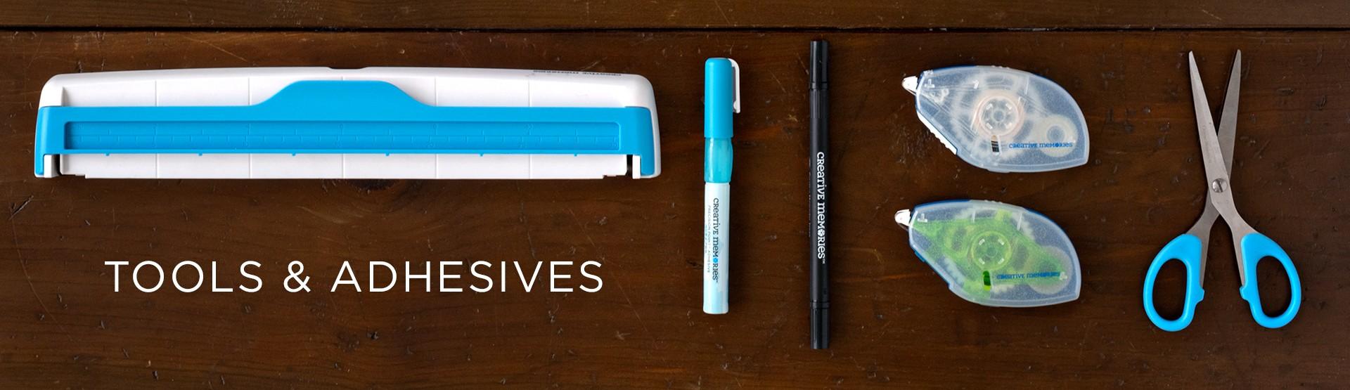 Tools, Adhesives, Storage & Pens
