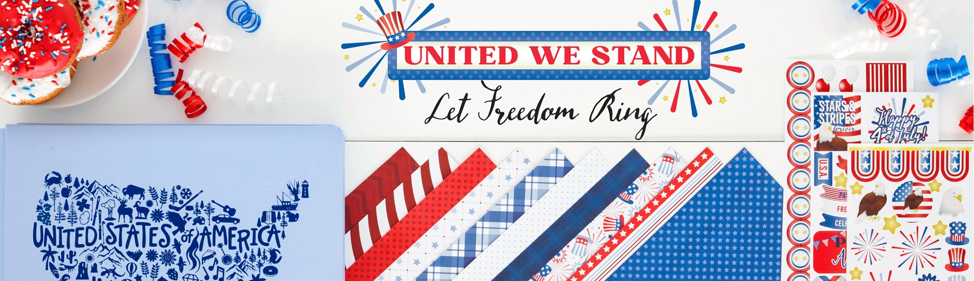 USA Scrapbooking Supplies: United We Stand