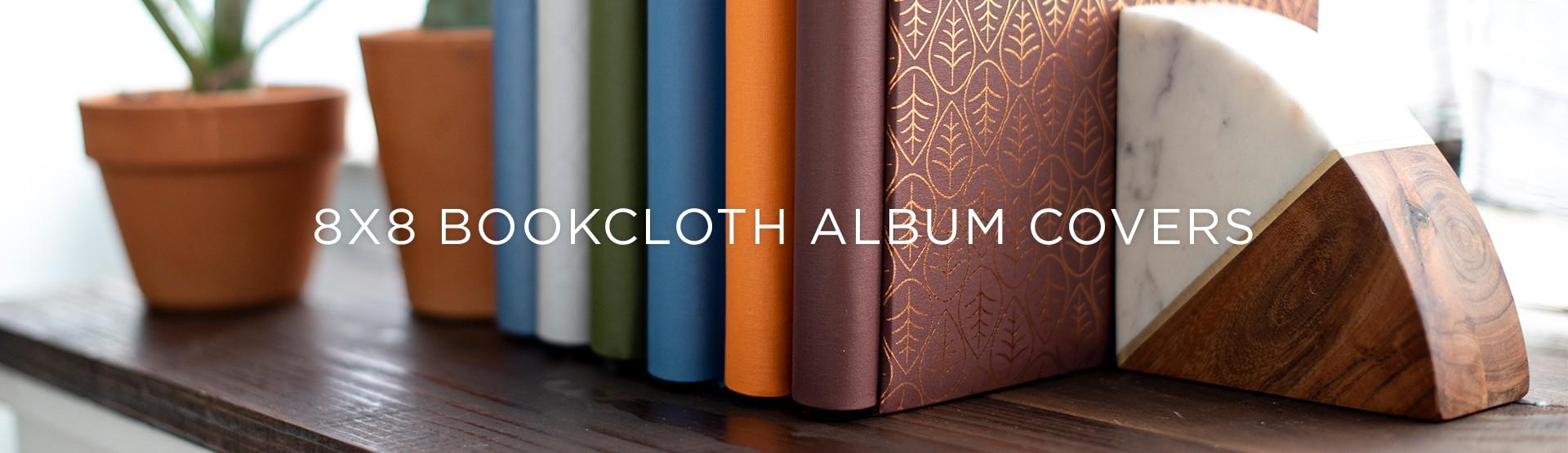 8x8 Bookcloth Album Covers