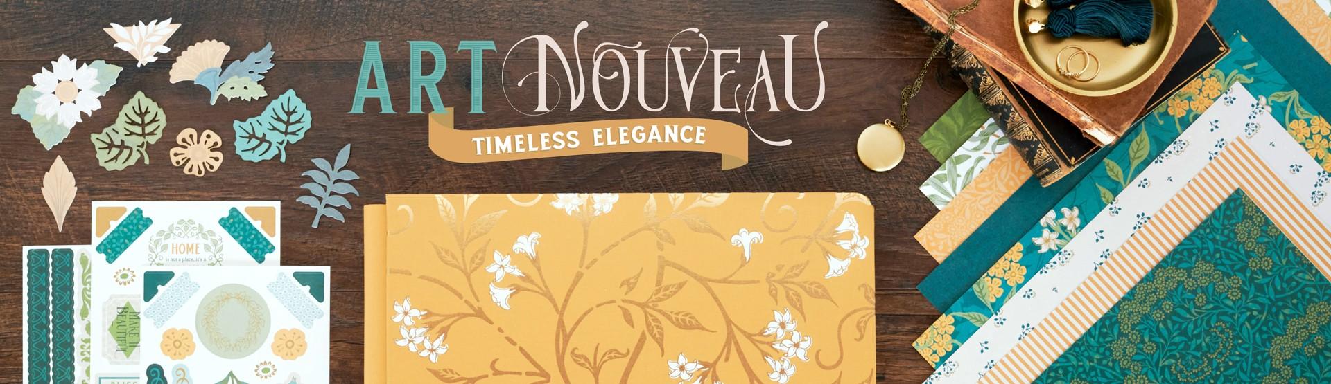 All Occasions: Art Nouveau Scrapbooking Supplies
