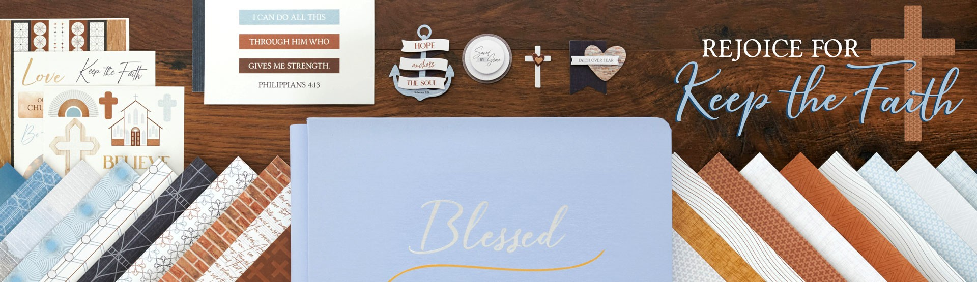 Religious Scrapbooking Supplies: Keep the Faith