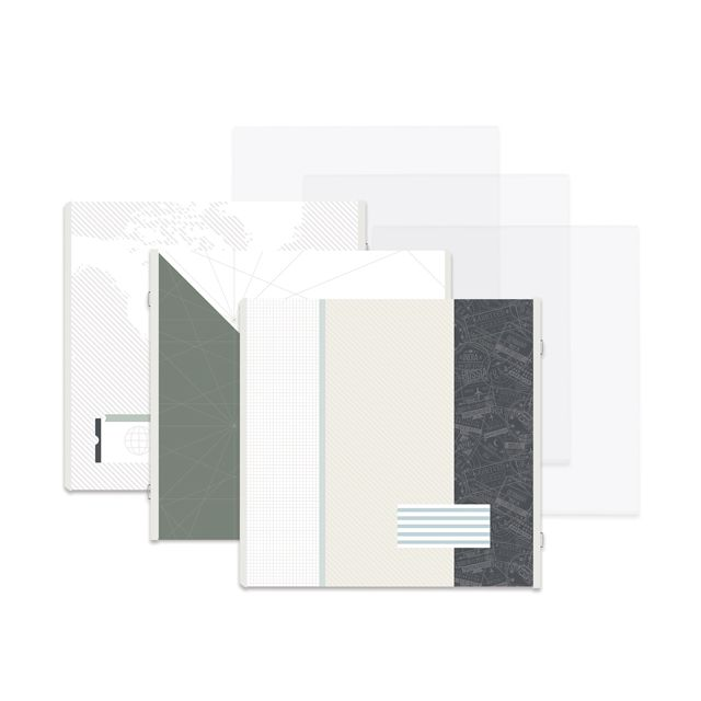 Creative Memories 12x12 Genuine Fast2Fab Refill Pages