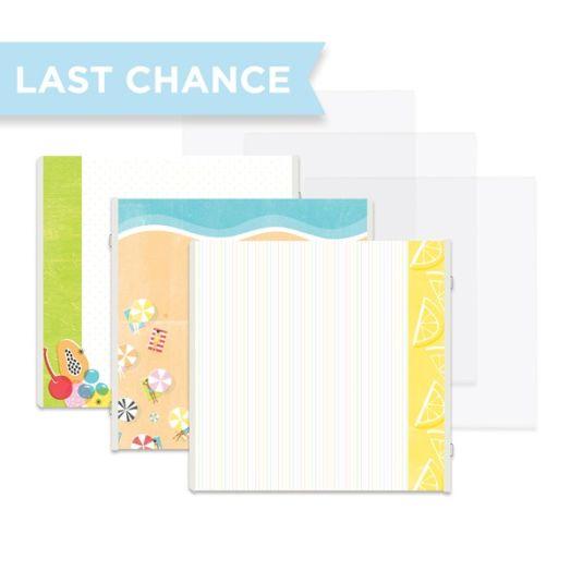 Creative Memories Citrus Summer scrapbooking-made-simple album