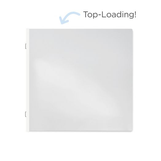 656761 - 12x12 Top-Loading Single-Pocket Pages - Creative Memories