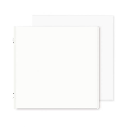 White 12x12 Plain Pages - Creative Memories