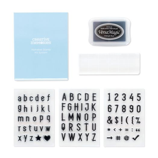 Creative Memories Alphabet Stamps Kit