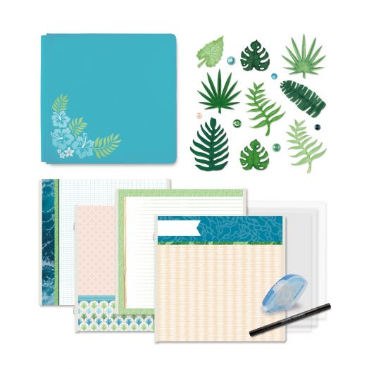Creative Memories tropical scrapbooking kit: Vitamin Sea