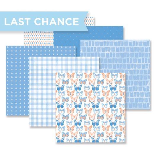 Blend & Bloom Blue Paper Pack by Creative Memories