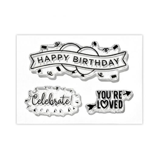 Creative Memories celebration craft stamps