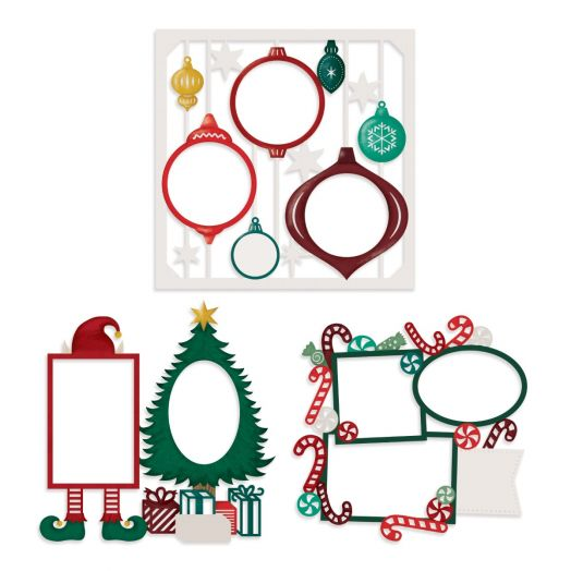 Creative Memories Christmas scrapbook paper - Christmas Spirit collection