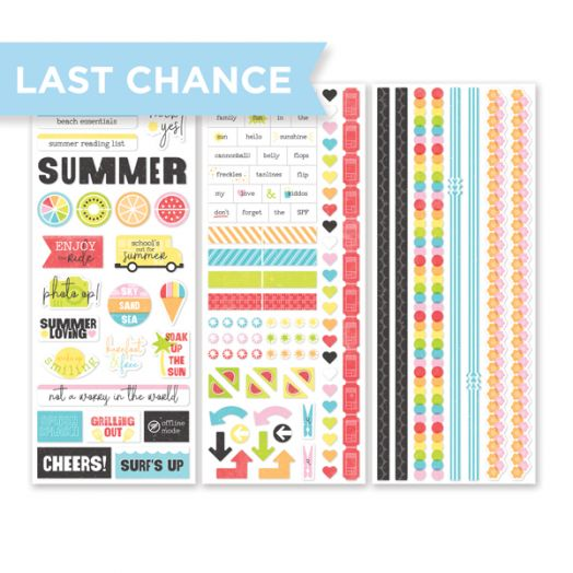 Creative Memories Citrus Summer Stickers