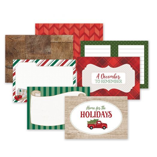 Creative Memories Christmas picture mats for scrapbooking - Christmas Spirit collection