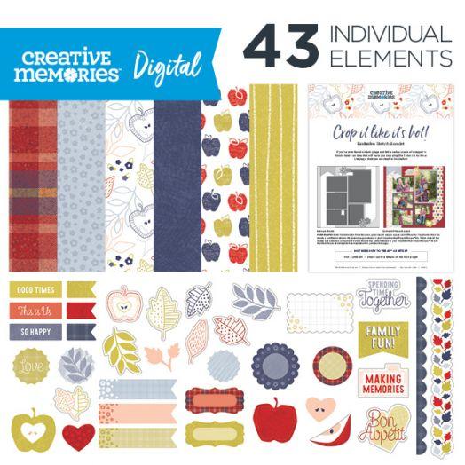 Creative Memories Digital Croptoberfest Kit 2020