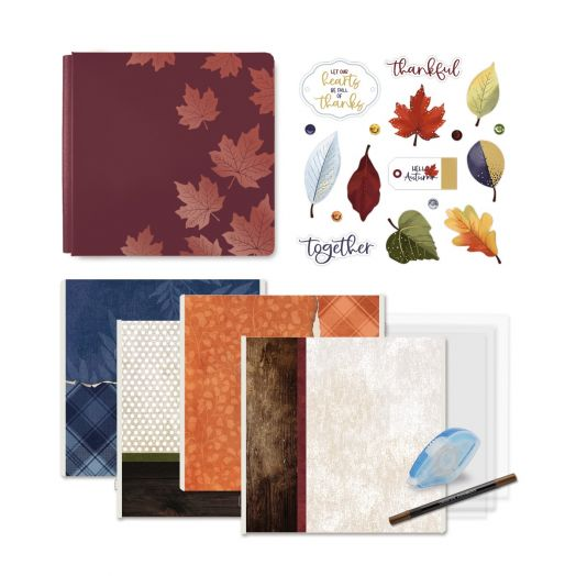 Creative Memories fall scrapbook kit: Hello, Autumn
