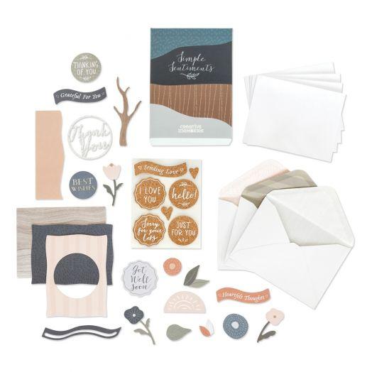 Creative Memories Simple Sentiments Card Kit