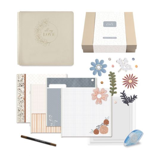 Creative Memories All My Love wedding album gift box