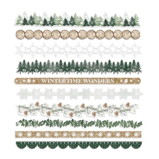 Creative Memories winter border embellishments - Winter Woods
