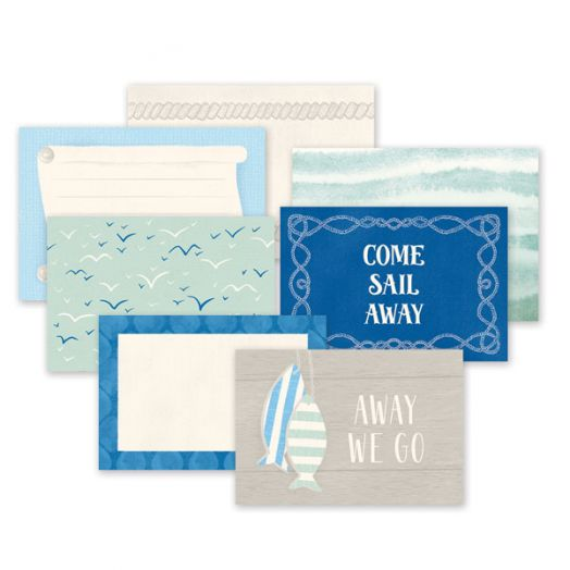 Creative Memories Deep Blue Sea nautical photo mats - 657152