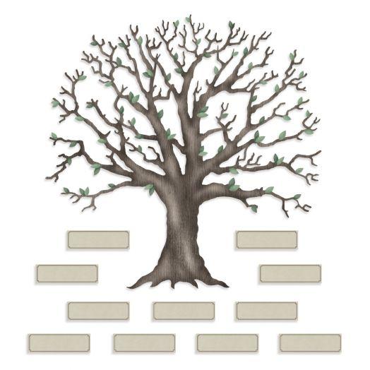 Creative Memories Family Tree scrapbook embellishment - 657626