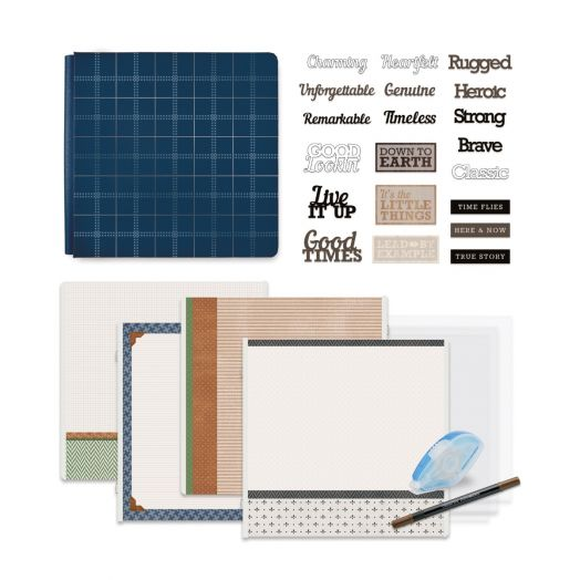 Creative Memories Winterberry Winter Scrapbook Kit Bundle - 657514