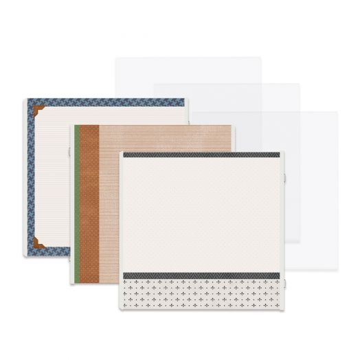 12x12 Genuine Fast2Fab™ Refill Pages - Creative Memories