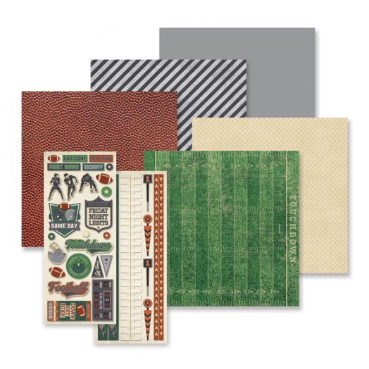 Creative Memories Gridiron football scrapbook kit - 657295