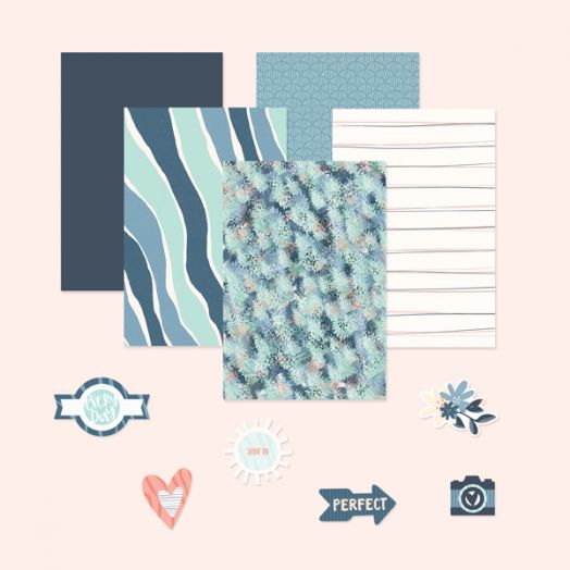 Creative Memories Happy Album scrapbook kit #24 - 657409