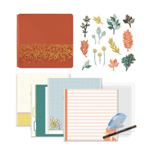 Creative Memories Harvest Delight premade fall scrapbook kit - 657403