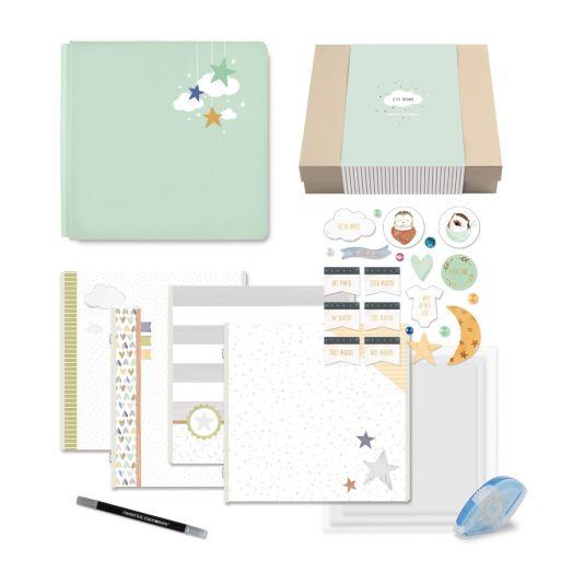 Creative Memories Little Dreamer baby memory book gift box
