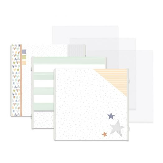 Creative Memories Little Dreamer predesigned scrapbook pages