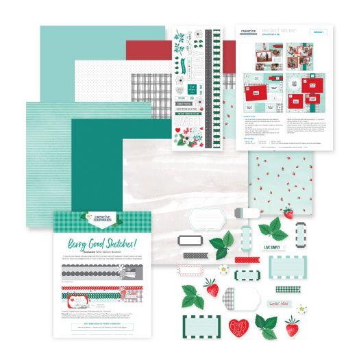 Creative Memories Snapshot Recipe Template - scrapbook stencil kit