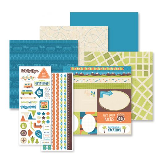 Creative Memories Open Road trip album kit - 657315