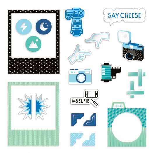 Creative Memories Picture This! photo themed scrapbook embellishments