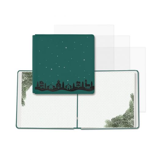 Creative Memories premade Christmas photo album with predesigned pages - Christmas Spirit