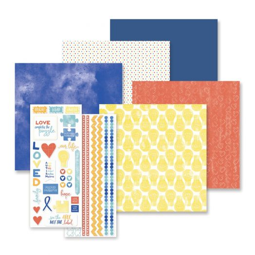 Autism Awareness Scrapbook Kit - Creative Memories