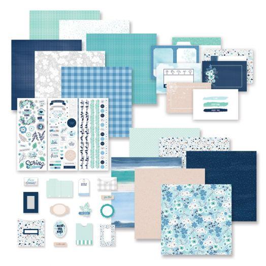 Creative Memories Spring Medley spring scrapbook kit- 659030