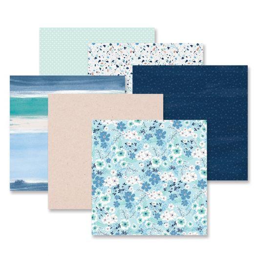 Creative Memories Spring Medley spring scrapbook paper - 657753