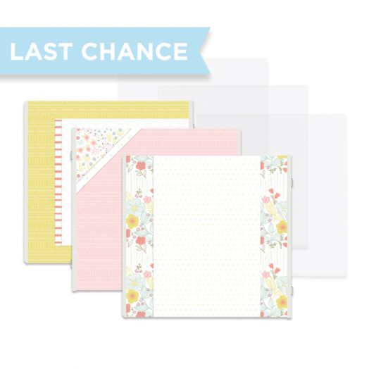 Storytime Premade Scrapbook Pages for Baby Girl Memory Book - Creative Memories