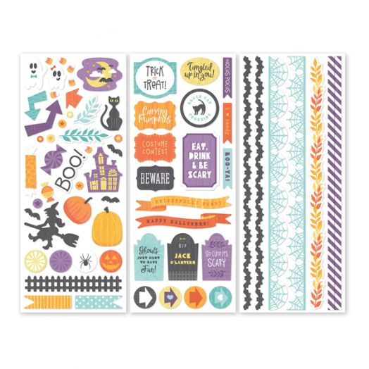 Creative Memories Wicked Cute Halloween Stickers - 657428