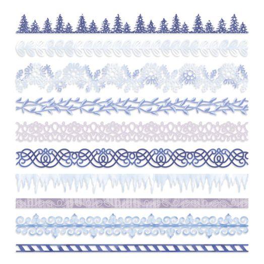 Creative Memories Winterberry Winter Border Embellishments - 657519