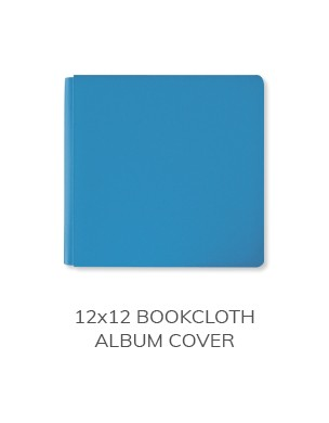 12x12 Bookcloth Album Cover